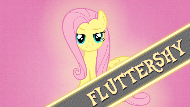 Generic Fluttershy Wallpaper by GuruGrendo