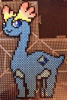 The Perler Pony Amaura Commission
