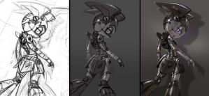 stealth jenny wip by 14-bis