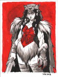 Catra from She Ra by TessFowler