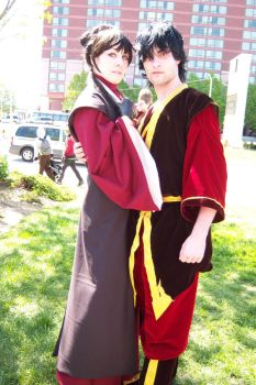 Zuko and Mai by Devil-yami-darky