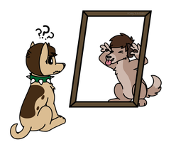 This Mirror is Broken[AT] by KittyMelodies