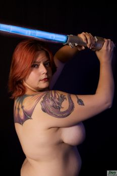 Topless Jedi 5 by Envy-Graphix