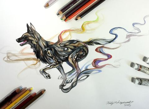 274- African Wild Dog by Lucky978
