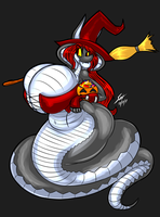 Halloween '17 - A Witch To Scale by grayscalerain