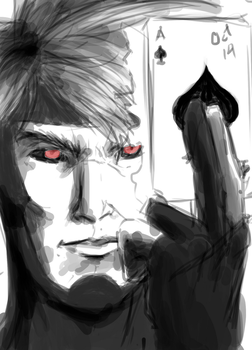 Gambit sketch by Rober2403