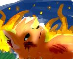 Firestar's Death... by PurrrfectArtist
