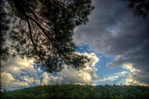 Clouds I by Ennev