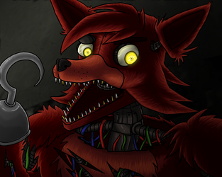 foxy animatronic by Seto01