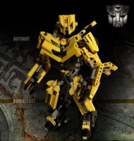 LEGO Transformers Bumblebee by Navello