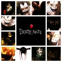Ryuk Deathnote by PufferfishCat