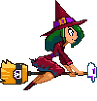 Tappy Witch Sprite by AmazingTrout
