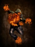 Man On Fire by AirDesign06