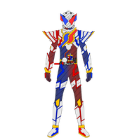 (Request) Kamen Rider Build Full Build Form by JoinedZero