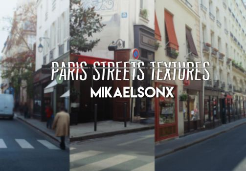 Paris Street Texture Pack by mikaelsonx