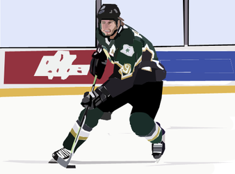 Mike Modano by eye-max
