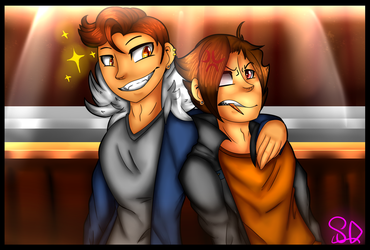 Brothers -Antonio and Lachlan by SanaeLovesDragonTale