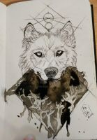 Wolf by Faymala