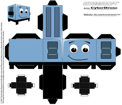 Cubee - Brave Little Toaster by CyberDrone