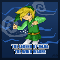 The Wind Waker by lightningchan