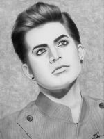Adam Lambert Portrait 2 by santabillie