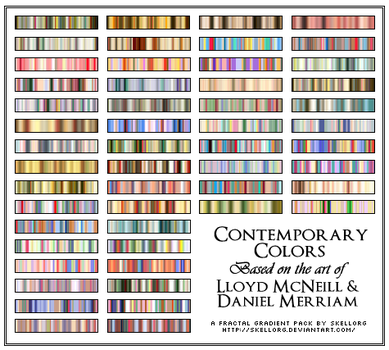 Contemporary Colors Gradients by skellorg