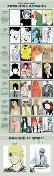 From 2009 to 2015 by Saint-Duke