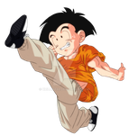 Krillin - Dragonball Z (Great Saiyaman Saga)[V.2] by Krillin888