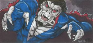 Marvel Premier Card - Morbius the Vampire (front) by DKHindelang