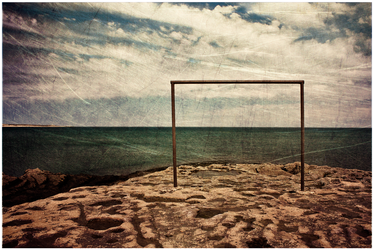 Goal at the End of the World by guille1701