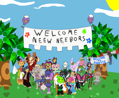 PKMNC- Welcome Wagon Collab by Obnoxious-Canary