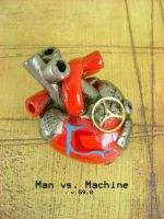 Man vs Machine - Front by monsterkookies