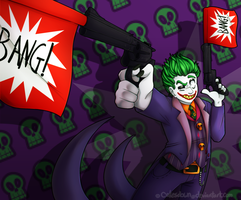 Save the city, or catch your greatest enemy! by cakesdown
