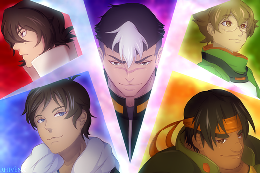 Voltron by RhIVenX