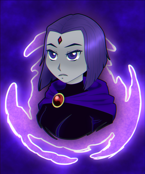Raven bust request by Panda-Prince22