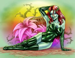 Poison Ivy by ArcosArt