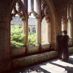 Cloisters. Noon by CappuccinoCloud