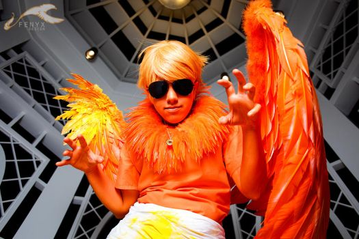 KatsuCon 2012 - Homestuck | Dave Sprite by elysiagriffin