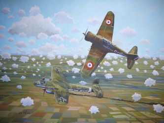 French air-force Hawk 75- May 1940 by hill9868