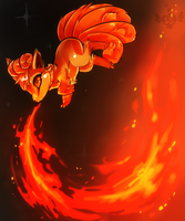 Vulpix: Flamethrower