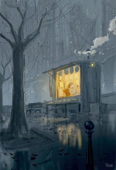 Reading Weather. by PascalCampion