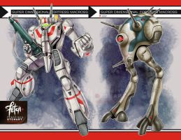 1/12 ROBOTECH set cards by FranciscoETCHART