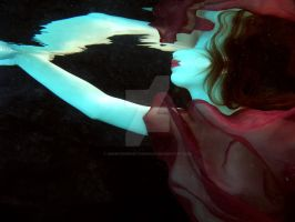 underwater china doll by KenMyersPhotography