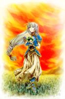 Valkyrie Profile - Lenneth by Sa-do