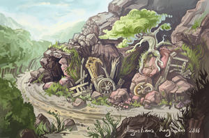 The Cave by AugustinasRaginskis