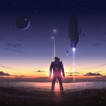 Space Cadet by Nyius
