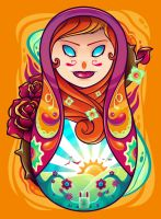 Matryoshka doll by TheDigitalMethod
