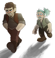 Eliot and Rivet by NEOmi-triX