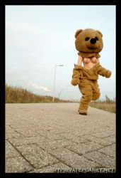 Run, Teddy.. Run by AncillaTilia