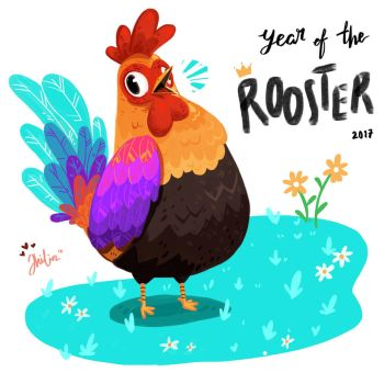 Year of The Rooster by limzhilin